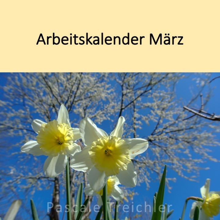 Garten Arbeitskalender März