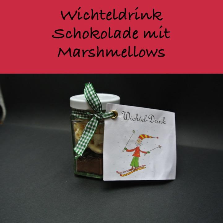 Heisse Schokolade Marshmellow