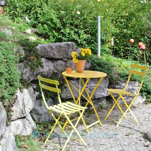 Herbstdekoration im Garten 2016