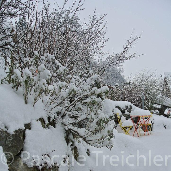 Kiesweg - Schnee - 3767-2