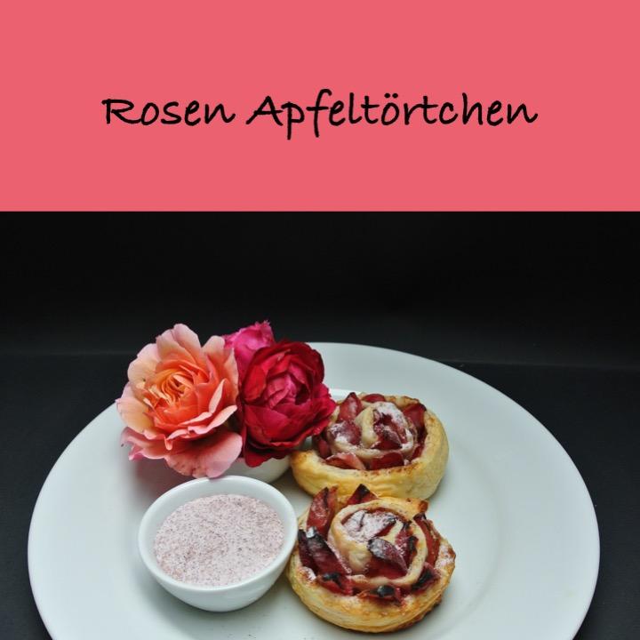 Rosen Apfeltörtchen