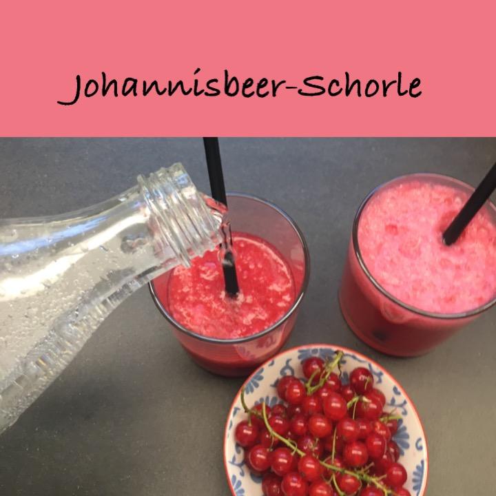 Johannisbeer Schorle