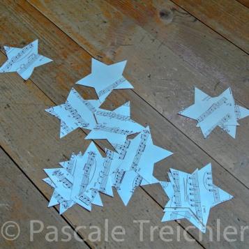 Sterne ausschneiden