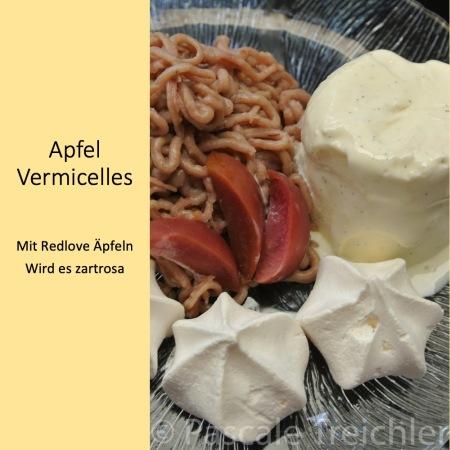 Apfel Vermicelles
